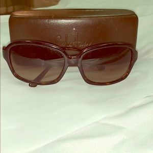 Cole Haan brown tortoise sunglasses